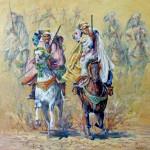 Fantasia, Oil Painting on canvas. 65x65 cm