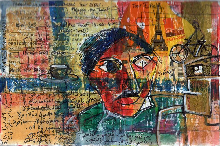 Picasso and the Thief…,13/06/2009, Paris