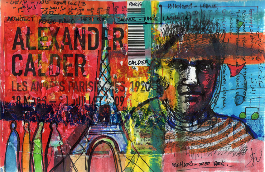 Calder colors, 13-06-2009, Centre Pompidou, Paris