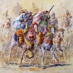 Fantasia Riders, 33x41 cm
